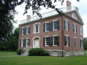 Exterior of Vanderpoel house, built in 1810