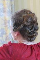 Lovely, complex updo